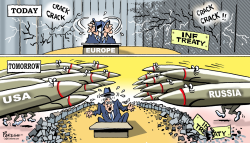 INF treaty and Europe by Paresh Nath