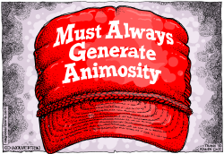 MAGA Hats by Wolverton