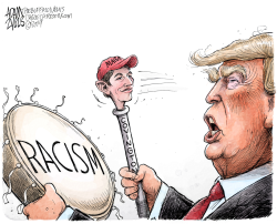 Covington MAGA students by Adam Zyglis