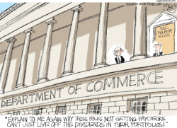 Wilbur Ross by Pat Bagley