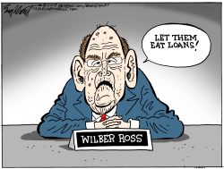 Wilber Ross by Bob Englehart