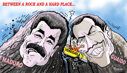 Venezuela in crisis by Paresh Nath