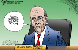 Secretary of Commerce Wilbur Ross by Bruce Plante