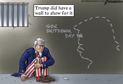 Trump shutdown by Steve Greenberg