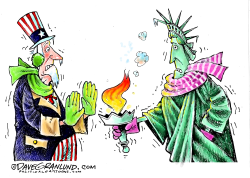 Deep Freeze USA by Dave Granlund