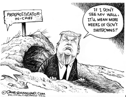 Trump and Groundhog Day by Dave Granlund