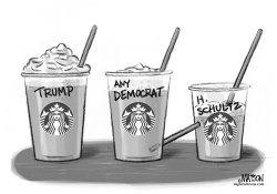 Howard Schultz Independent Campaign for President by RJ Matson