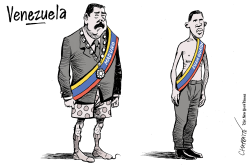 Two presidents in Venezuela by Patrick Chappatte
