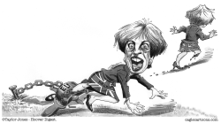 Theresa May escape route by Taylor Jones