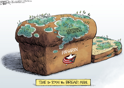 LOCAL OH Moldy CBJ Bread by Nate Beeler