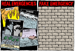 Fake Emergency Wall by Wolverton