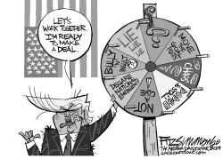 State of the Union Wheel of Fortune by David Fitzsimmons