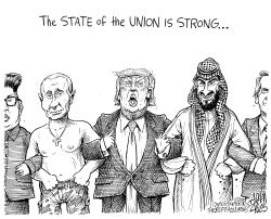 The State of the Union is Strong by Adam Zyglis