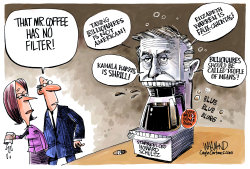Mr Coffee Malfunctions by Dave Whamond