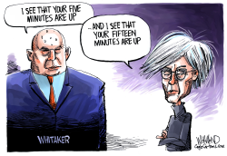 Whitaker's Five Minutes by Dave Whamond