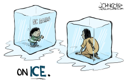 LOCAL NC ICE raids by John Cole