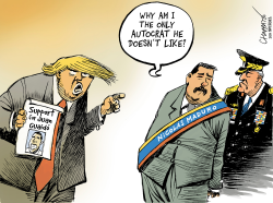 Support for Juan Guaido by Patrick Chappatte