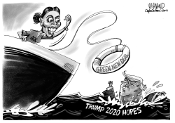 AOC Throws Trump a Lifeline by Dave Whamond