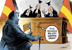 Trial of Catalan separatist leaders by Patrick Chappatte