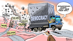 Democracy in Asia by Paresh Nath