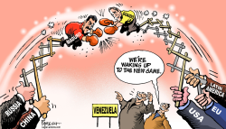Power game in Venezuela by Paresh Nath