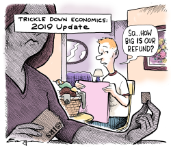 Trickle Down Economics by Tim Eagan