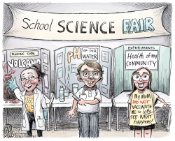 Unvaccinated by Adam Zyglis