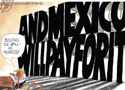 Wall Payment by Pat Bagley