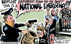 National Emergency by Milt Priggee