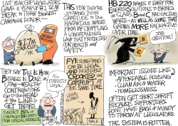 LOCAL Utah Legislature by Pat Bagley
