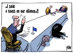 Alliance with EU by Tom Janssen