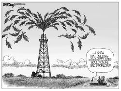 everglades Drilling FLORIDA by Bill Day