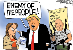 Trump Ignores real Enemy of the People by Jeff Darcy