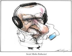 Putin the Social Media Enthusiast by Dale Cummings