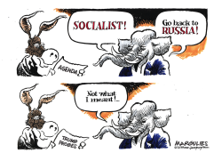 Democrats and Republicans by Jimmy Margulies