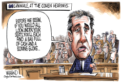 No more Cohen of Silence by Dave Whamond