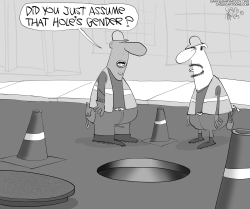 Manhole Gender by Gary McCoy