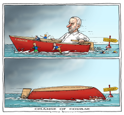 Brexit - Labour change of course by Joep Bertrams