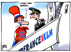 Dutch protection for KLM by Tom Janssen