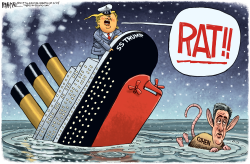 Cohen The Rat by Rick McKee
