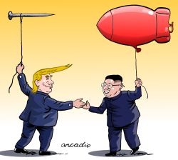 Cumbre Trump Kim by Arcadio Esquivel