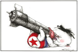Kim Jong Un hangs onto his nukes by Dale Cummings
