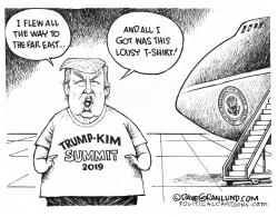 TrumpKim Summit 2019 flop by Dave Granlund
