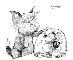 TomJerry Trump Kim by Petar Pismestrovic