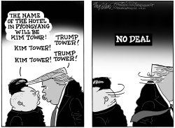 North Korea No Deal by Bob Englehart