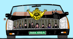 Celebrating Womens Day in Saudi Arabia by Emad Hajjaj