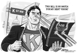 K Street Fights Ethics and Campaign Finance Reform Bill by RJ Matson