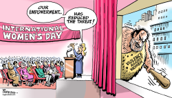 Women's Day by Paresh Nath