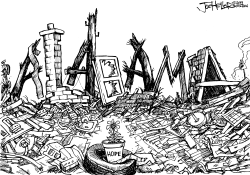 Alabama Tornado by Joe Heller