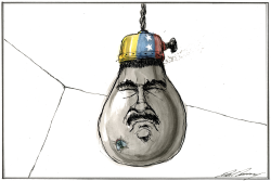 Venezuelan Blackout by Dale Cummings